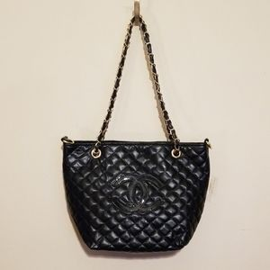 Chanel Chain Tote Shoulder Shopper Bag VIP Gift